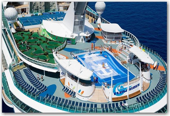 Liberty of the Seas - Aerials at sea Liberty of the Seas - Royal Caribbean International